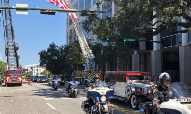 Councilman remembered at funeral service, procession through city