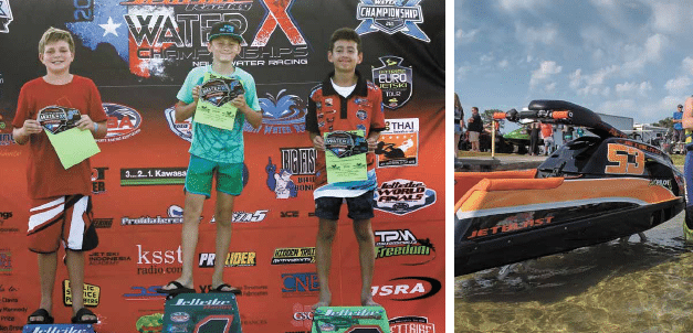 Fairhope youth picks up national watercraft racing title