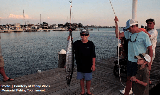 Kenny Vines Memorial Fishing Tournament coming up