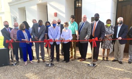 Ribbon cutting held at state's birthplace of public education, now magnet middle school